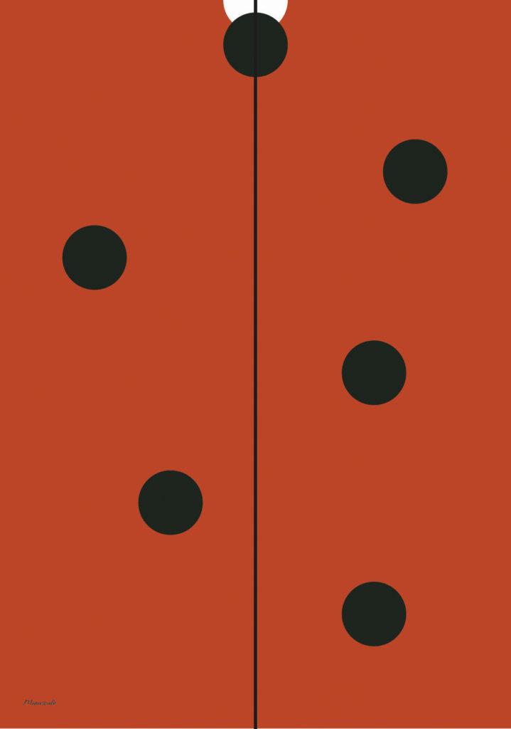 Affiche minimaliste Minuscule